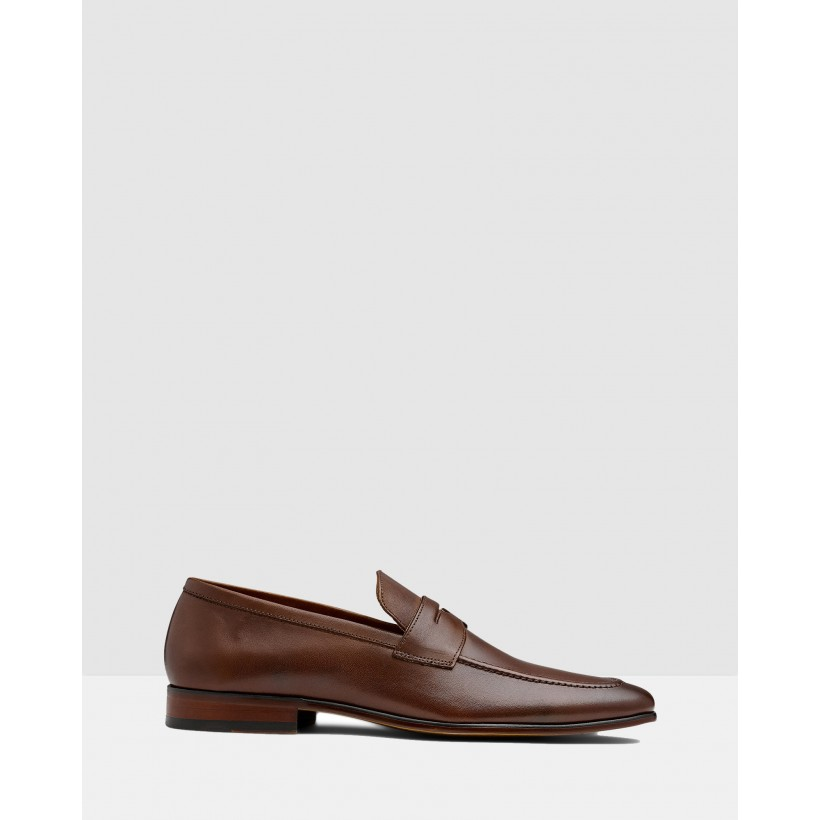 Penley Loafers Brown by Aq By Aquila