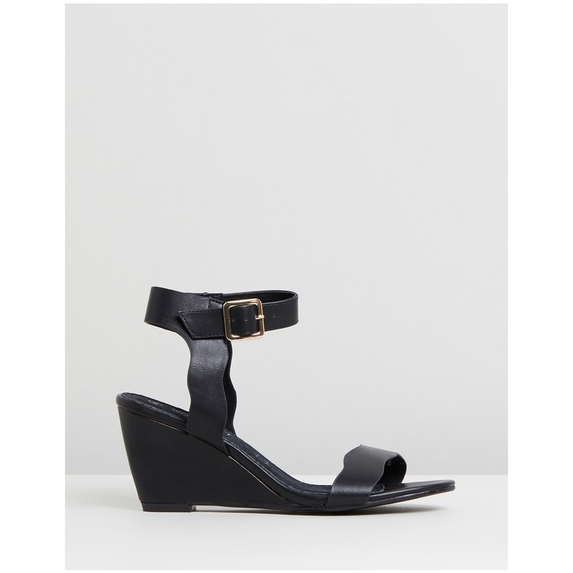 Perry Wedges Black by Walnut Melbourne