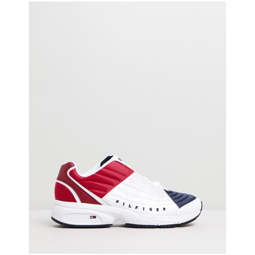 Phil 2C Sneakers Red, White & Blue by Tommy Hilfiger