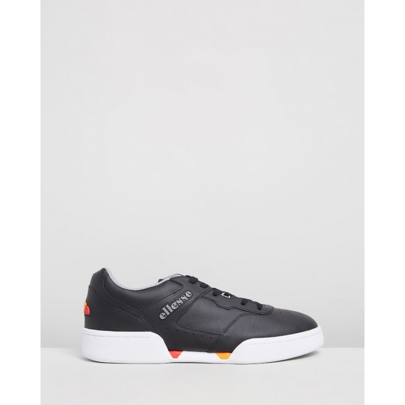 Piacentino 2.0 Sneakers Black & Grey by Ellesse