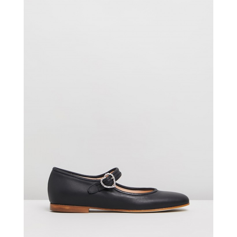 Picnic Shoes Midnight Velvet by Brother Vellies