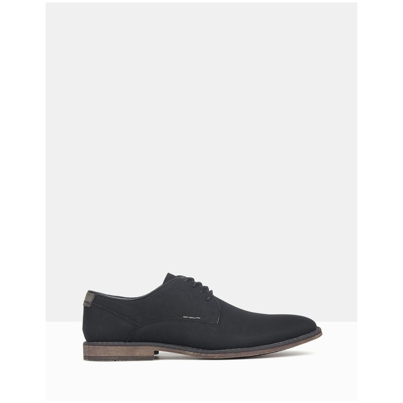 Power Lace Up Dress Shoes Black by Betts