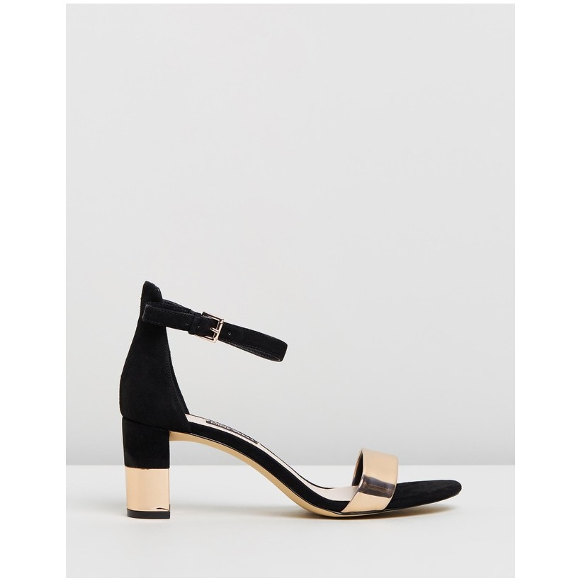 Pruce Black & Rose Gold by Nine West