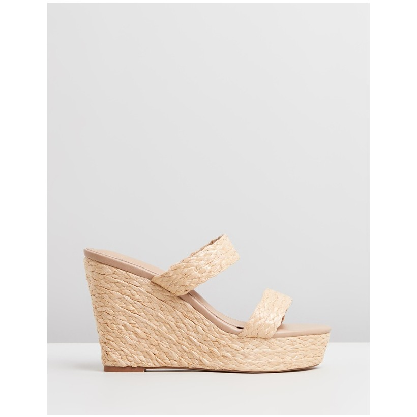 Rafi Wedges Natural Raffia by Spurr