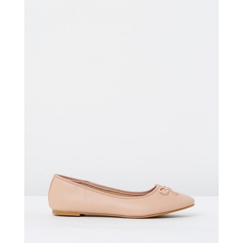 Rosie Bow Flats Nude by Spurr