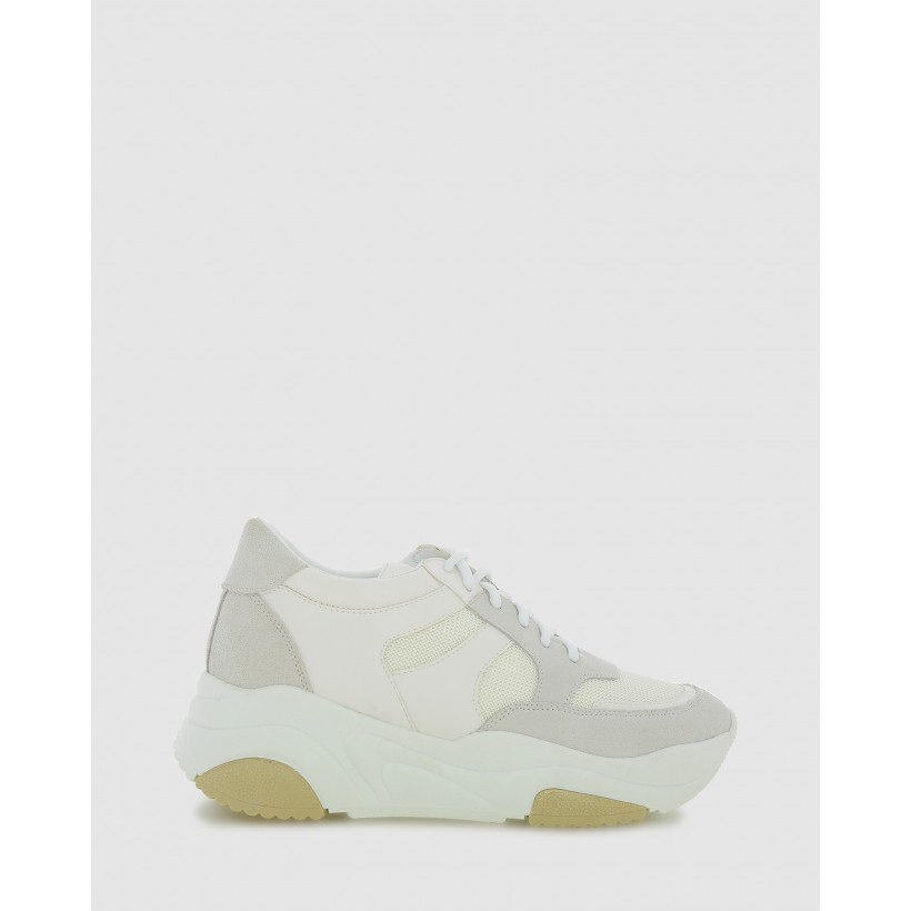 Sandy Sneakers White by Marcus B