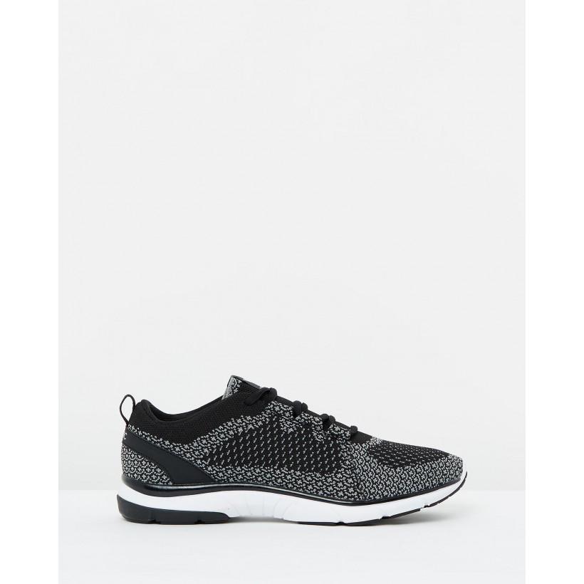 Sierra Active Sneakers Black & Charcoal by Vionic