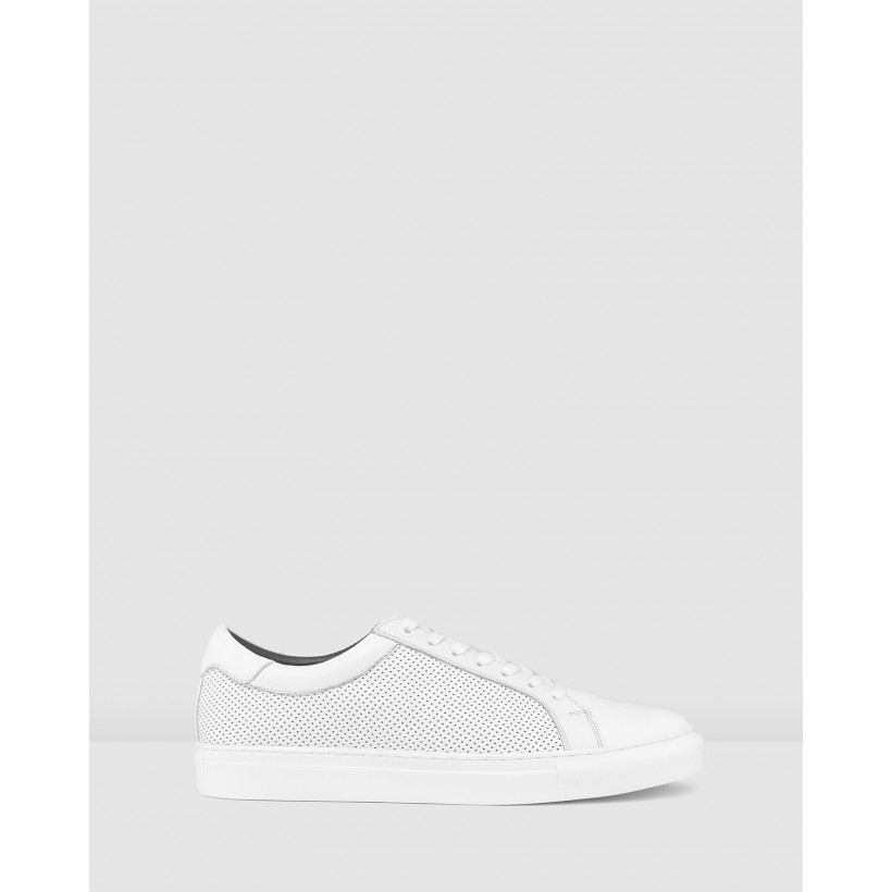 Smith Sneakers White by Aq By Aquila