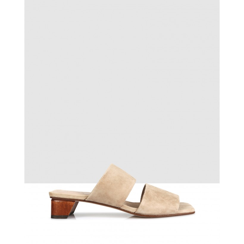 Sofia Sandals Taupe by Beau Coops