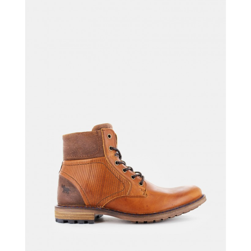 Southport Boots Tan by Wild Rhino