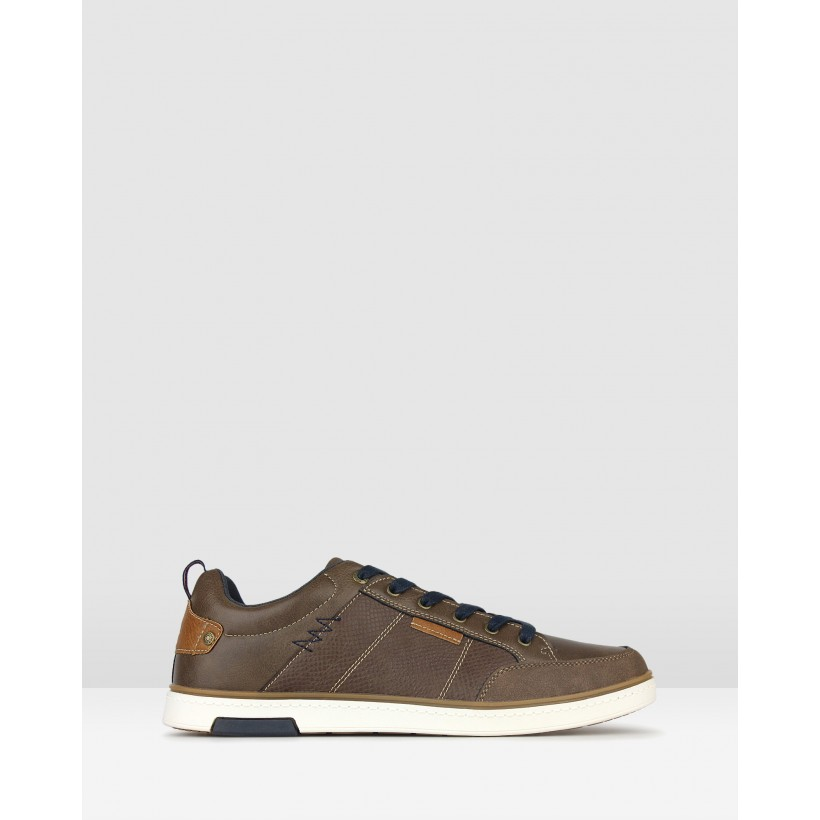 Stadium Lifestyle Sneakers Brown by Betts