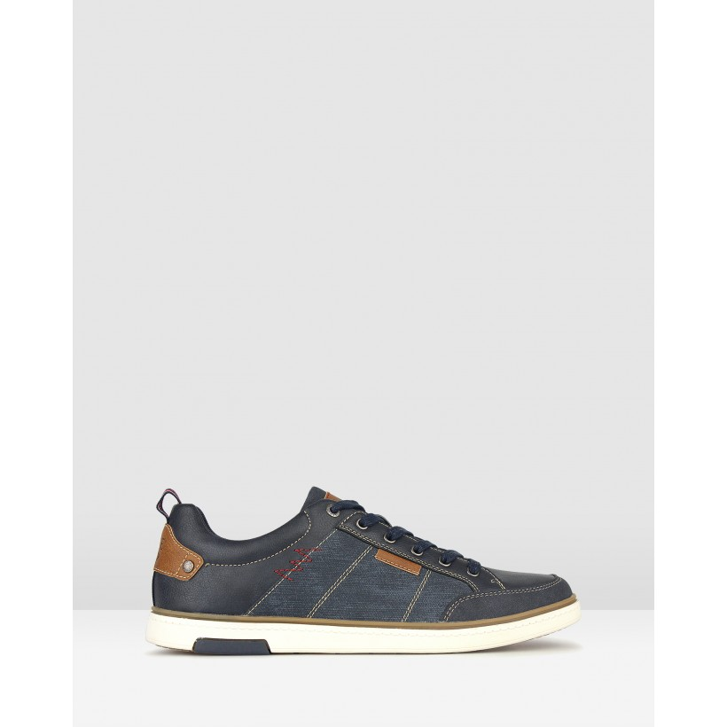 Stadium Lifestyle Sneakers Navy by Betts