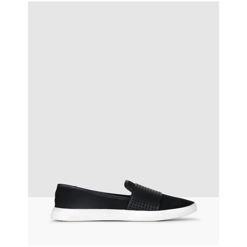 Sully Casual Slip On Shoes Black by Betts