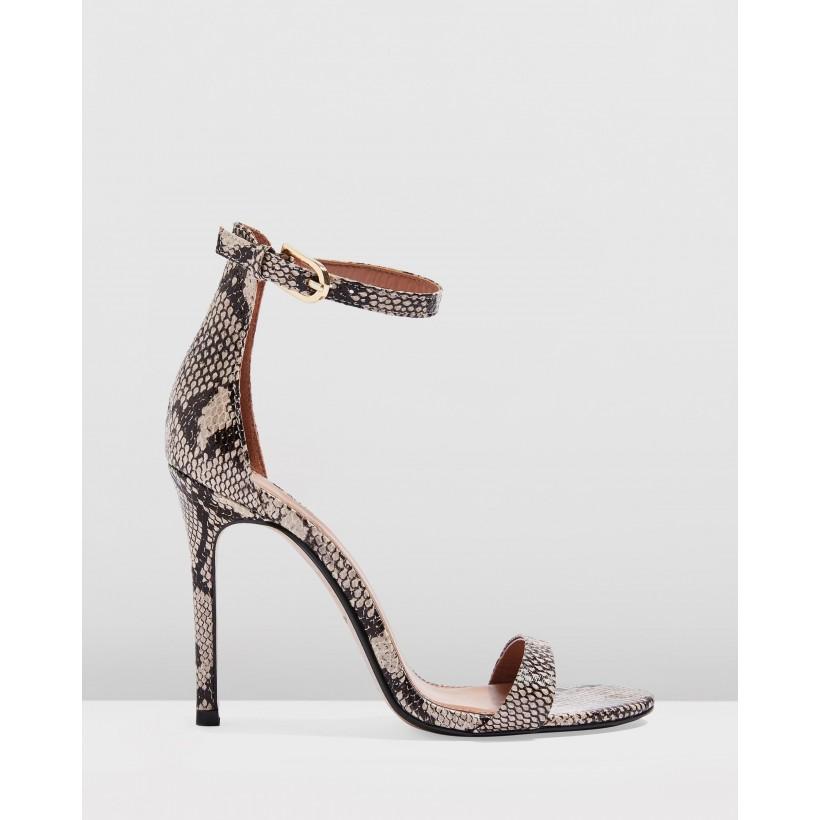 Susie Two Part Skinny Heels Multi by Topshop