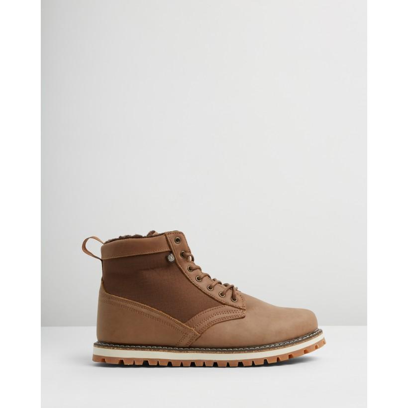 Sutton Boots Walnut Breen by Element
