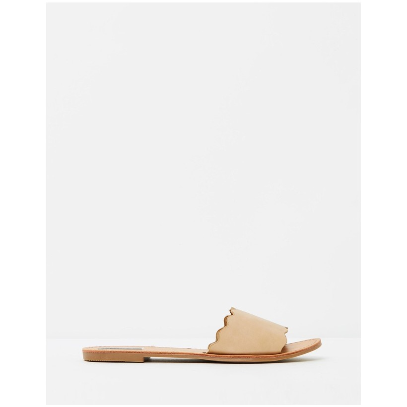 Tayla Sandals Nude Smooth by Dazie