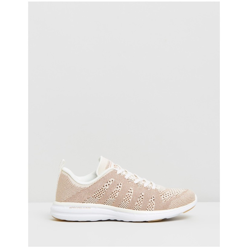 TechLoom Pro - Women's Pristine, Rose Gold & White by Apl