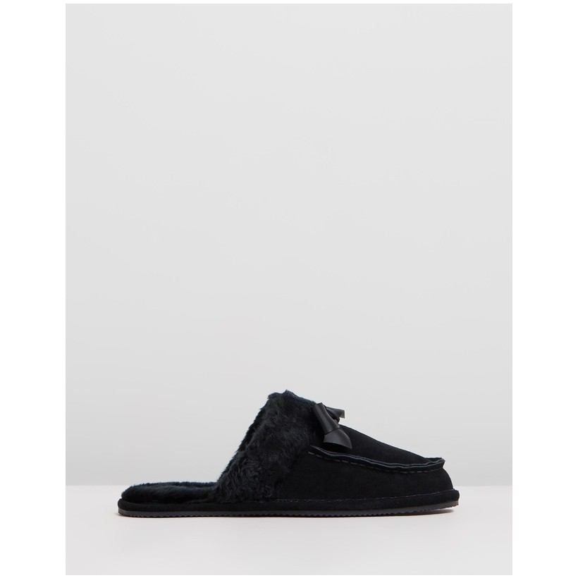Tegan Black Suede by Polo Ralph Lauren