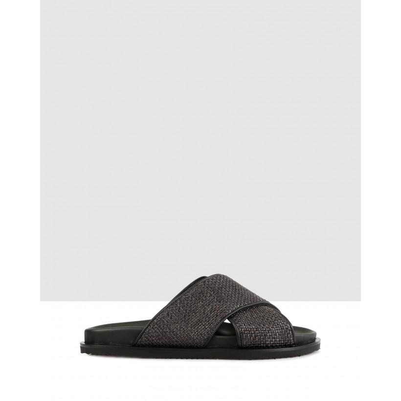Thorp Sandals Nero by Brando