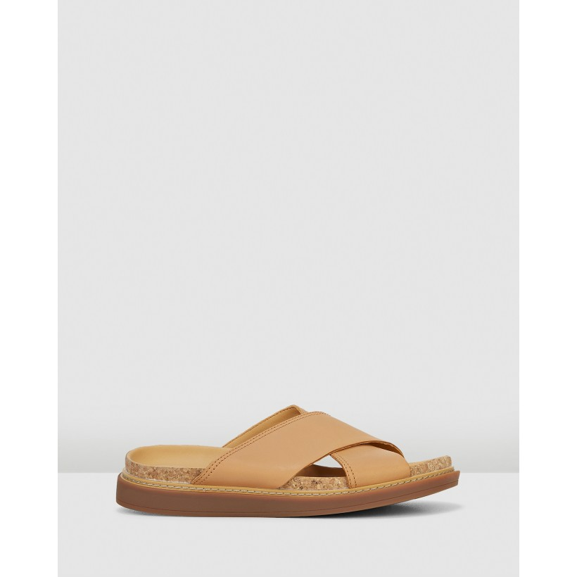 Trace Drift Light Tan Leather by Clarks