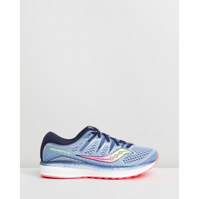 Triumph ISO 5 - Women's Blue & Navy by Saucony