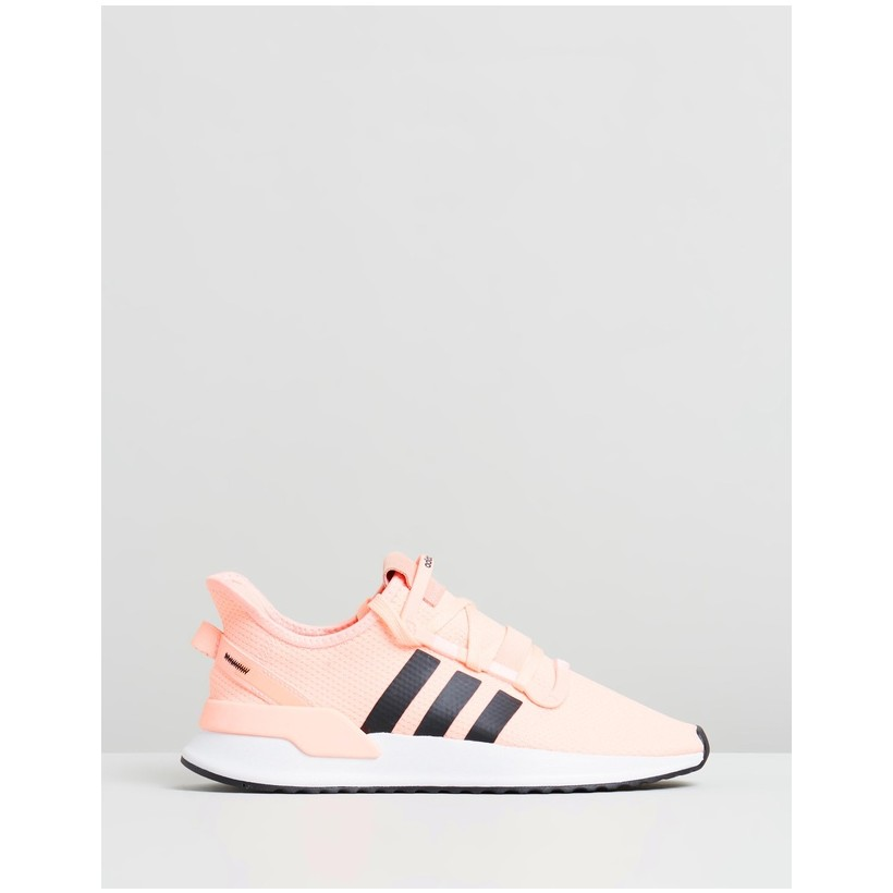 U_Path Run - Women's Clear Orange, Core Black & Footwear White by Adidas Originals
