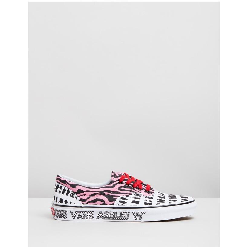 Vans X Ashley Williams Era - Women's Tiger & Jugs by Vans