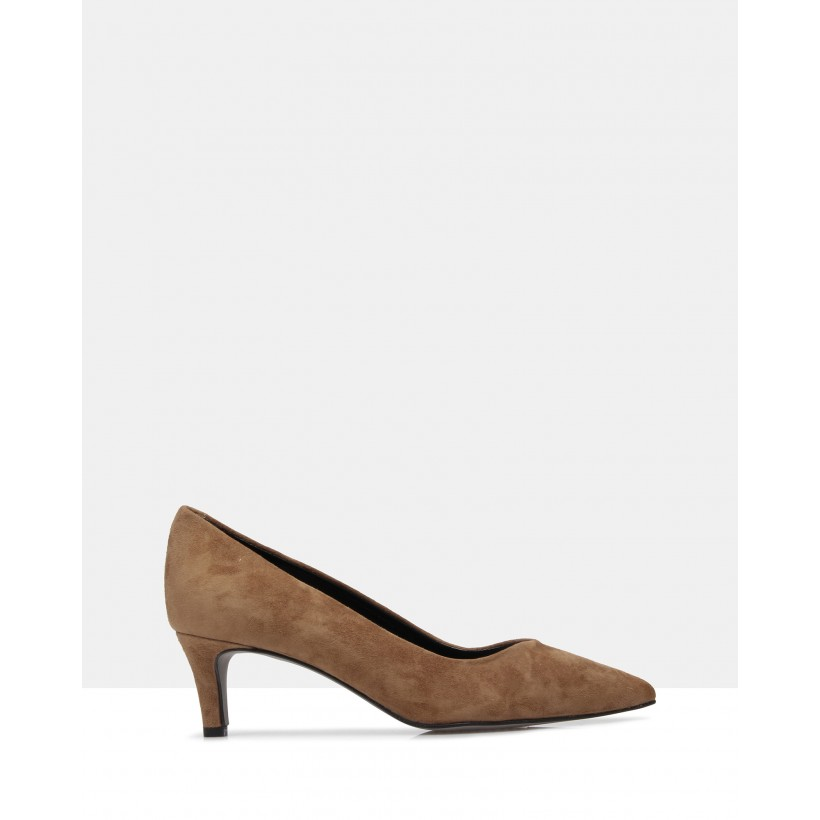 Veola Court Shoes Brown by Sempre Di
