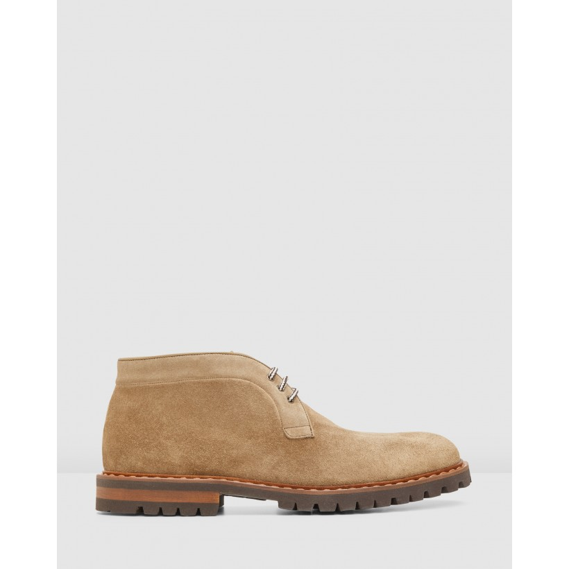 Wakefield Boots Camel by Aquila