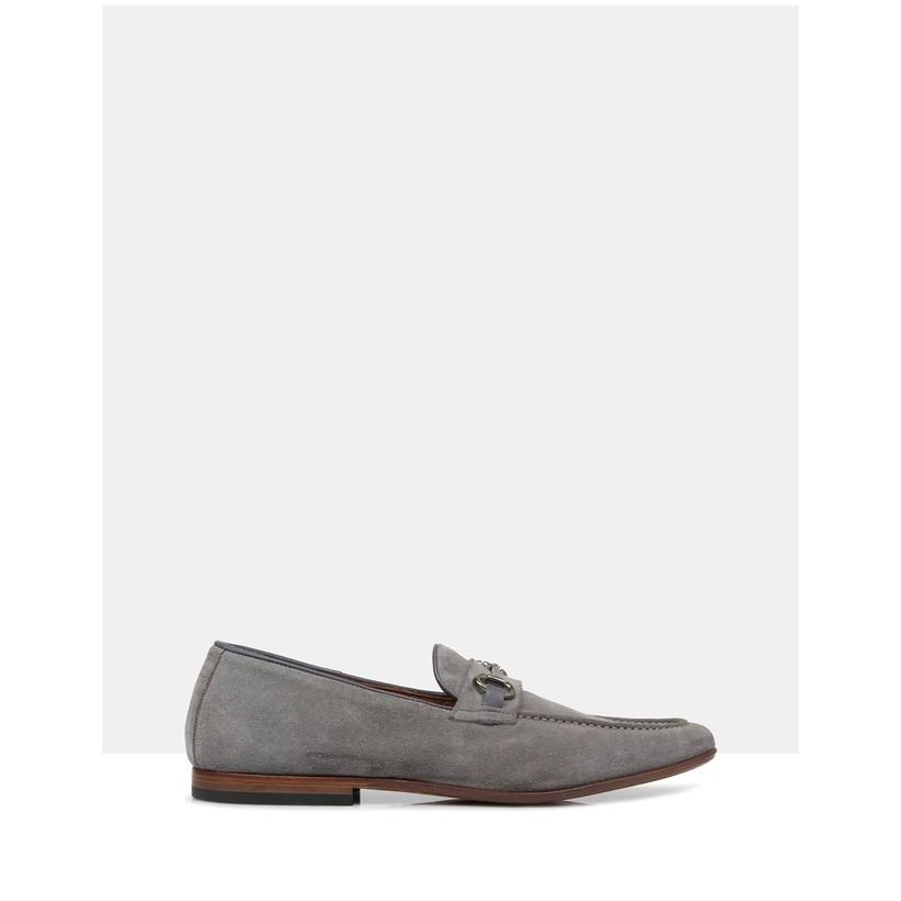Wesley Suede Loafers Grey by Brando