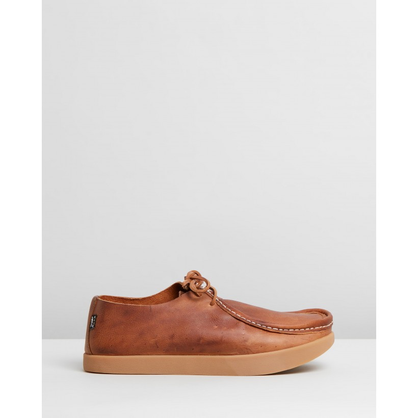 Willard Negative Heel Shoes Brown by Yogi