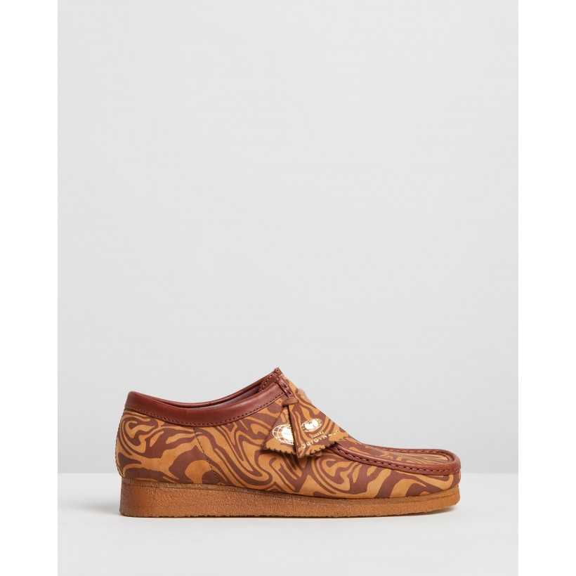 Wu Tang X Clarks Wallabee Brown Multi by Clarks Originals