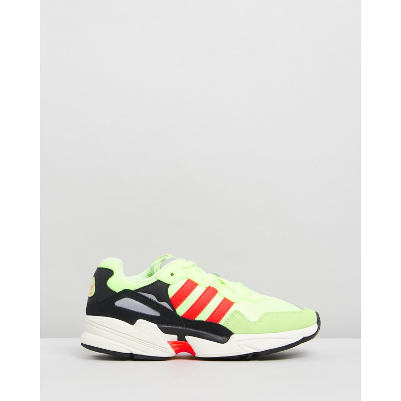 Yung-96 - Unisex Hi-Res Yellow, Solar Red & Off White by Adidas Originals