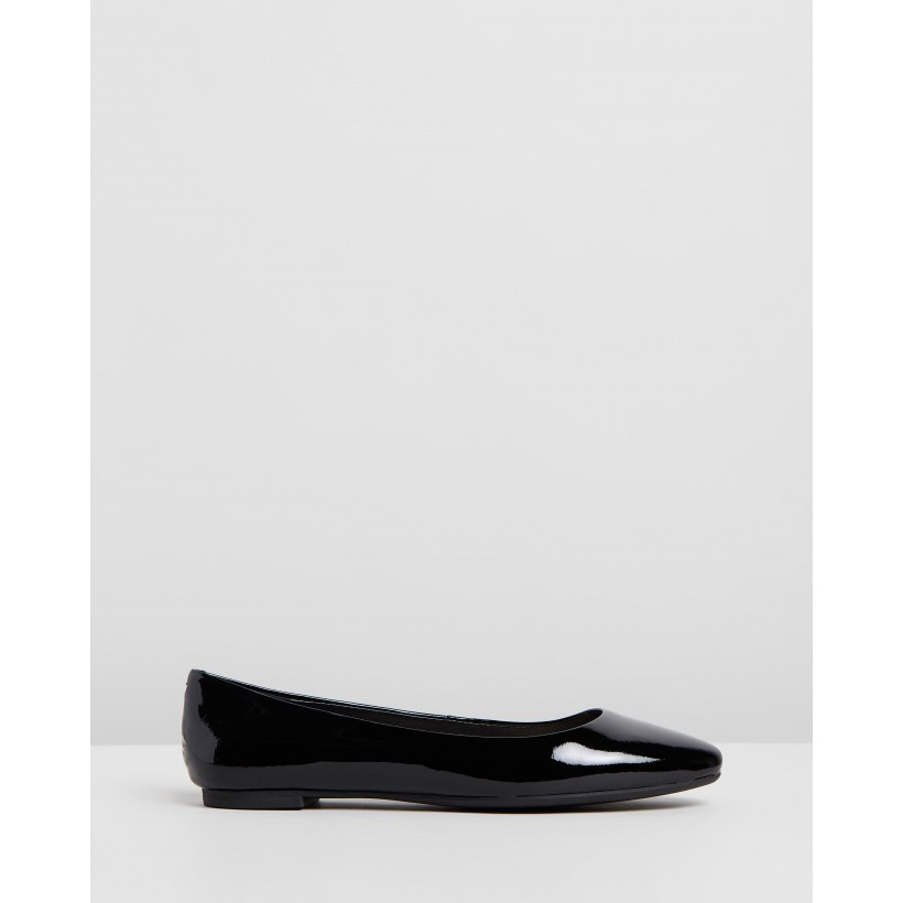 Zenn Black Patent by Nine West