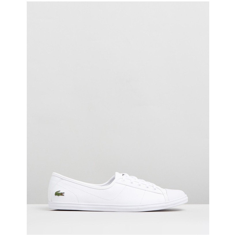 Ziane BL 1 White Leather by Lacoste