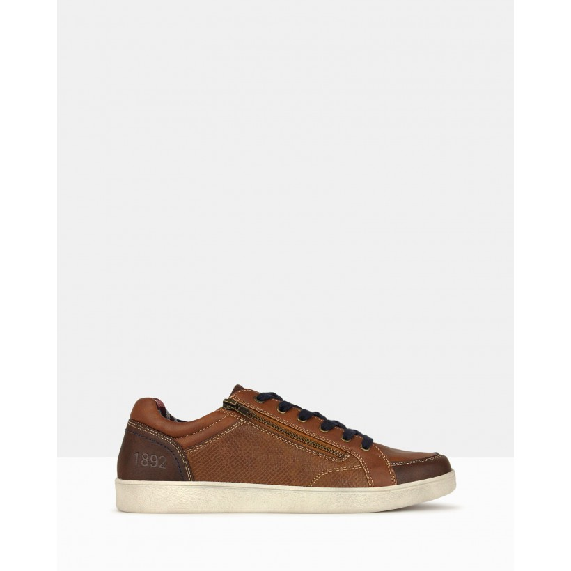 Zippy Lifestyle Sneakers Brown by Betts
