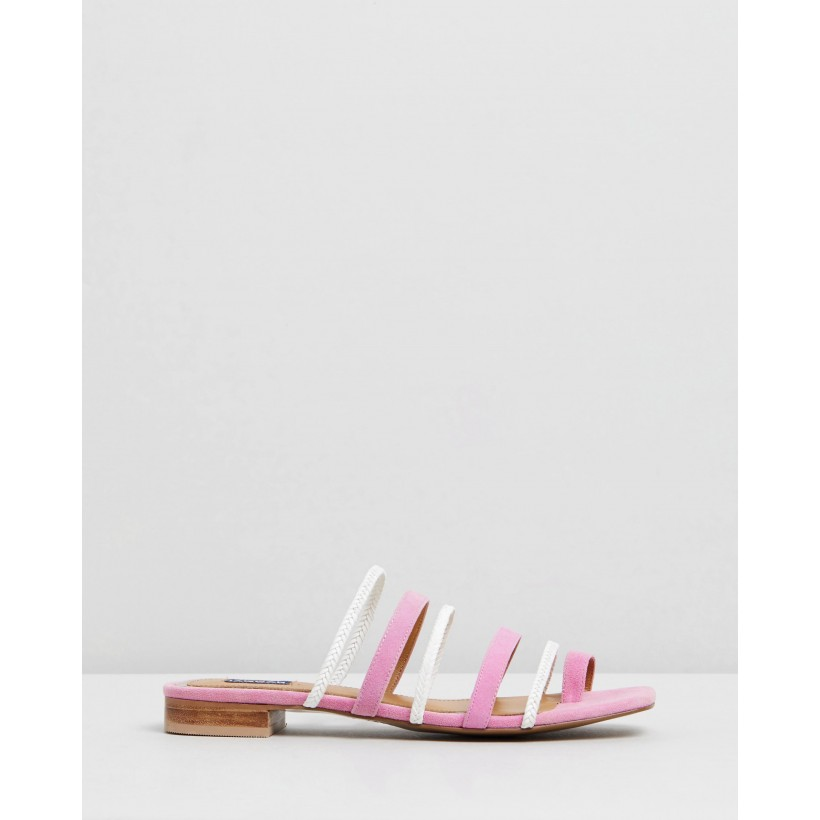 Braided Flats Orchid by Jaggar The Label