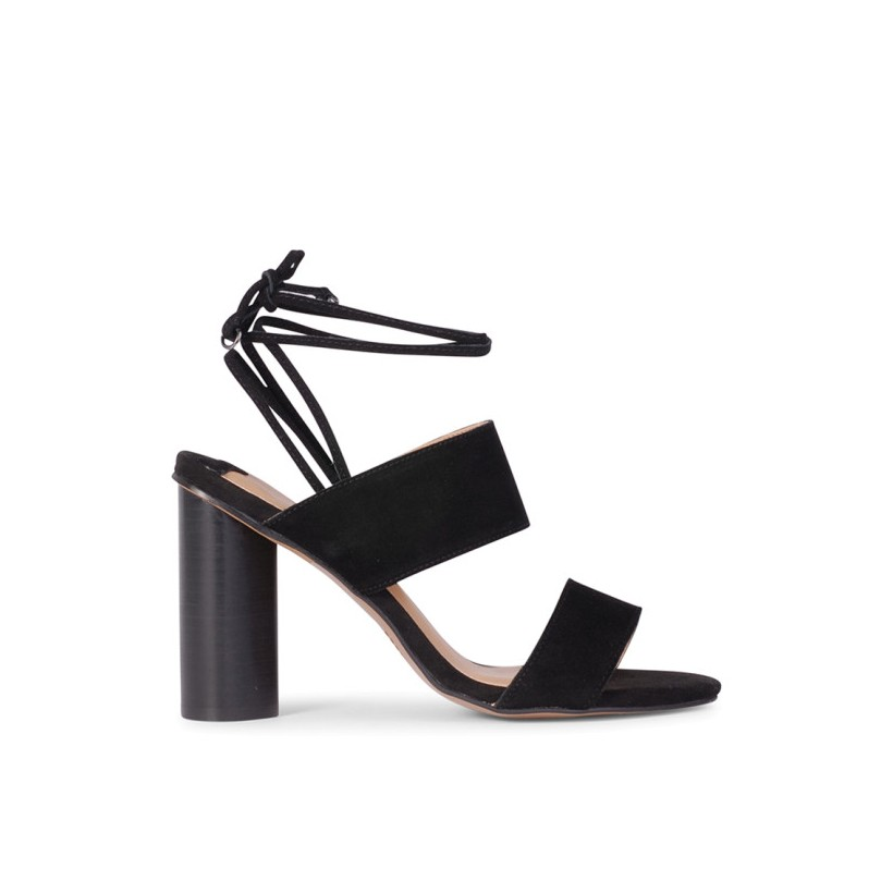 Kane - Black Suede by Siren Shoes