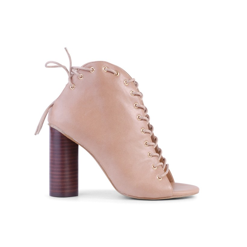 Kassandra - Camel Nappa Kid by Siren Shoes