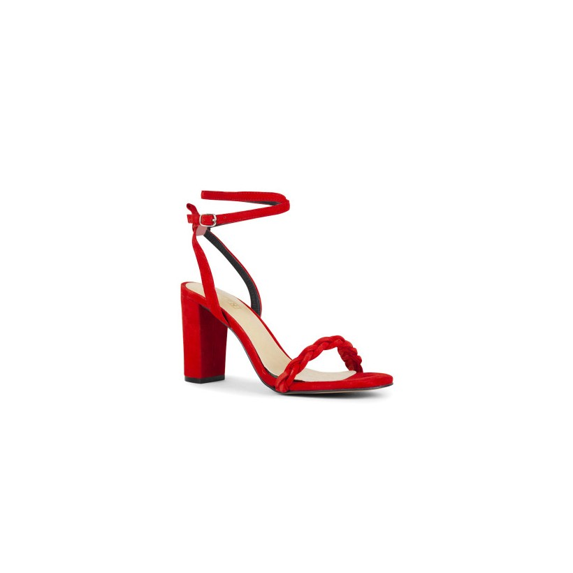 Laylah - Chilli Kid Suede by Siren Shoes
