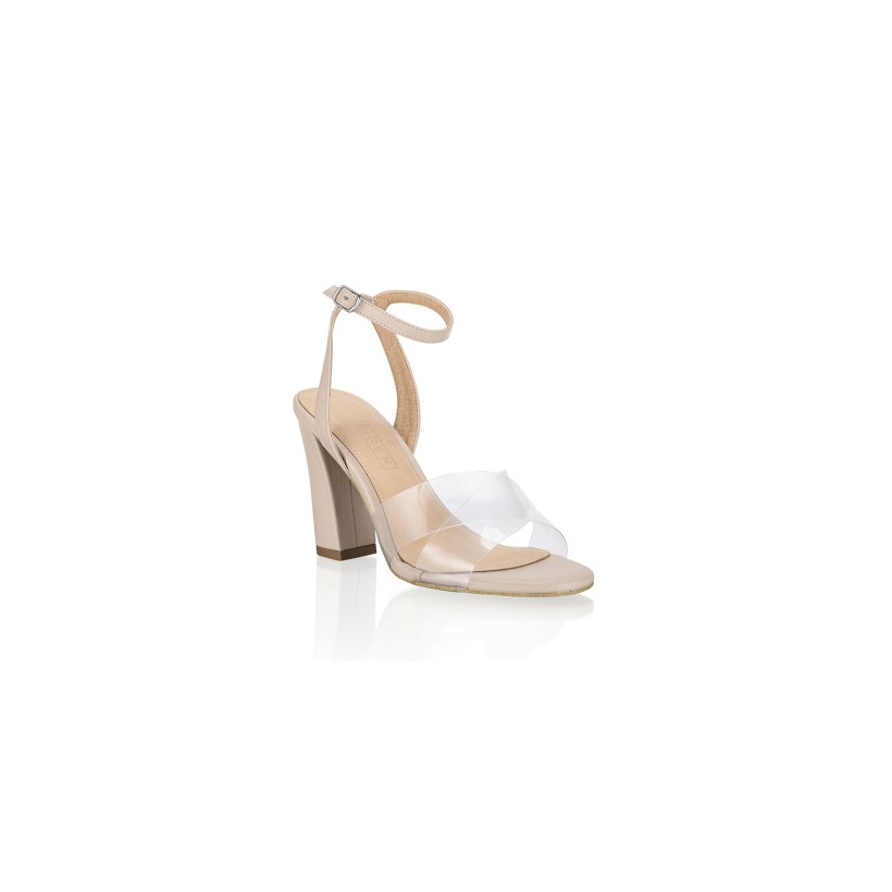 Moss - Clear Vinylite by Siren Shoes