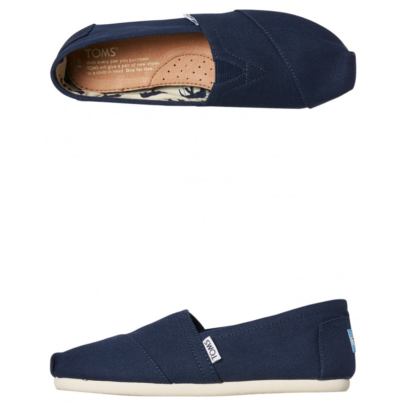 Womens Alpargata Shoe Navy