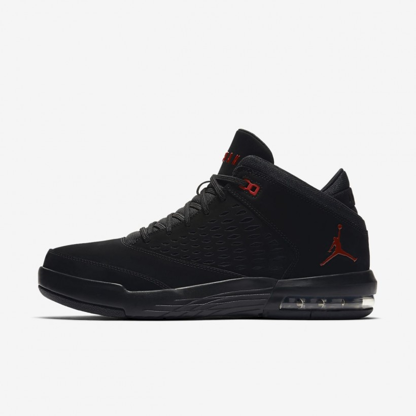Black/GymRed - Jordan Flight Origin 4
