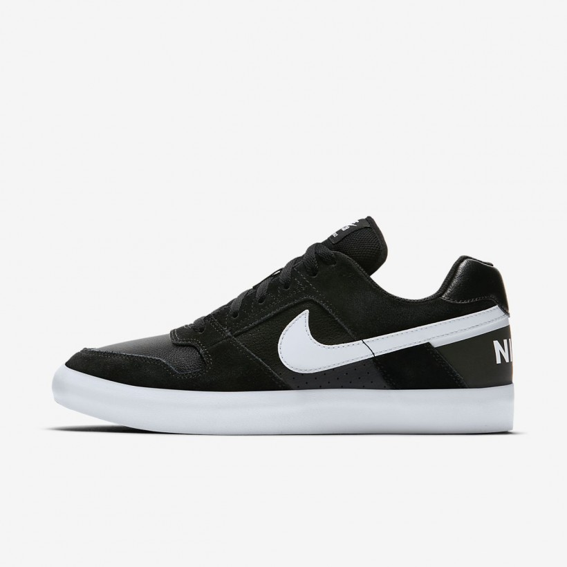 Black/Anthracite/White/White - Nike SB Delta Force Vulc