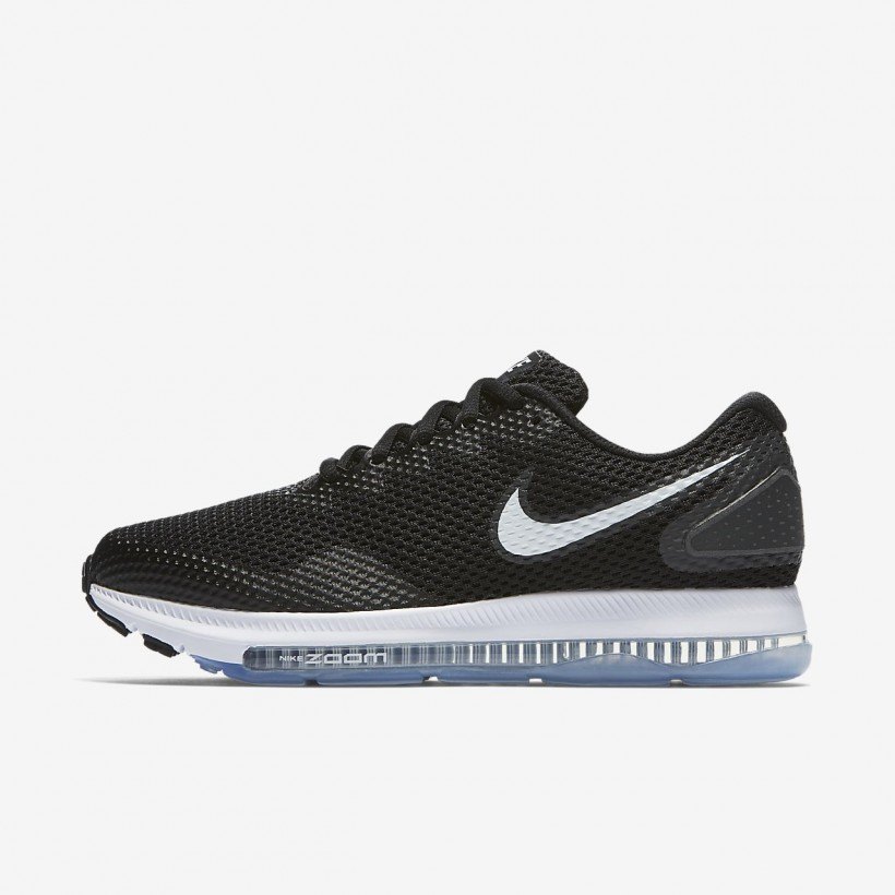 Black/Anthracite/White - Nike Zoom All Out Low 2