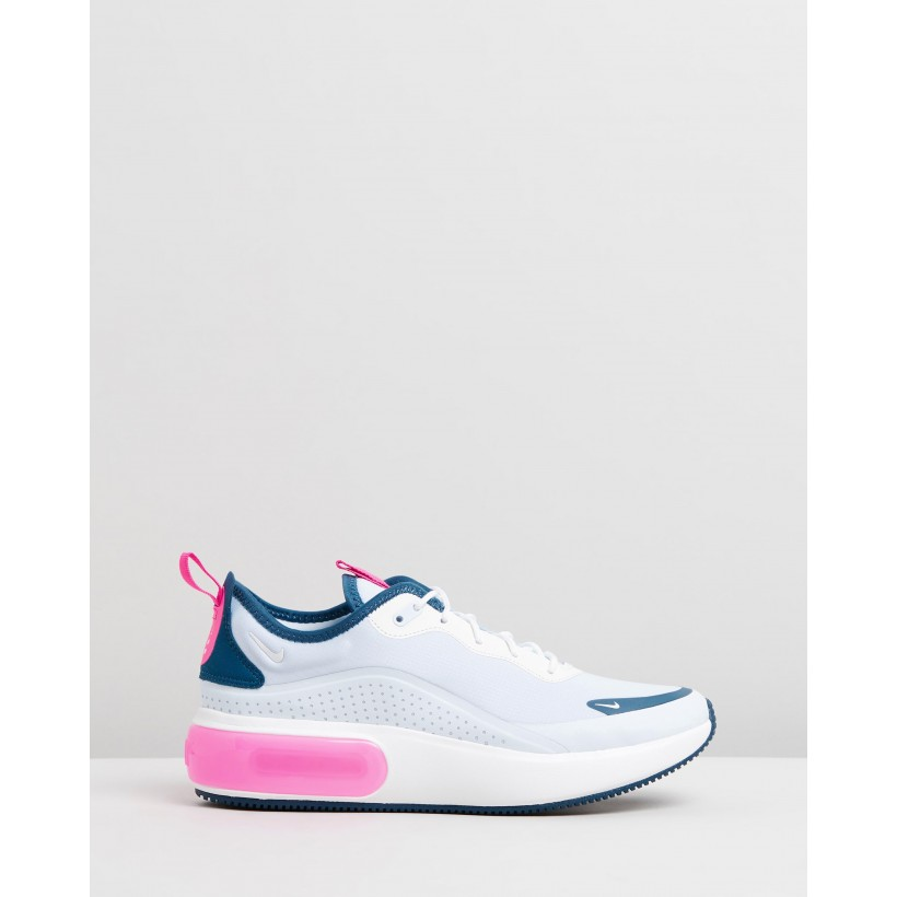 Air Max Dia - Women's Blue Force, Hyper Pink & Half Blue by Nike