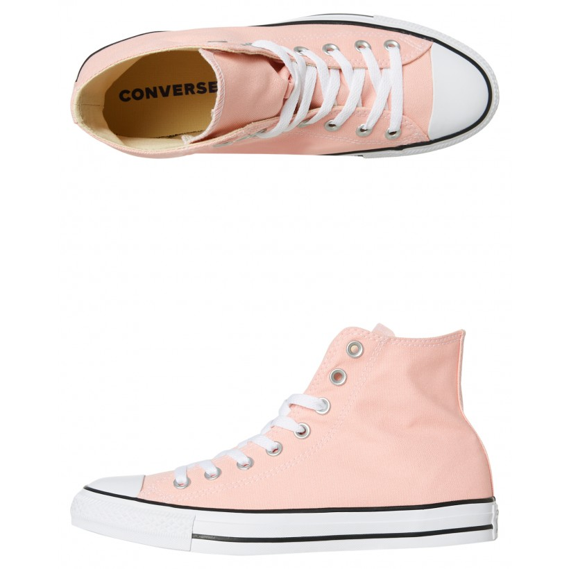 Mens Chuck Taylor All Star Hi Shoe Pink By CONVERSE
