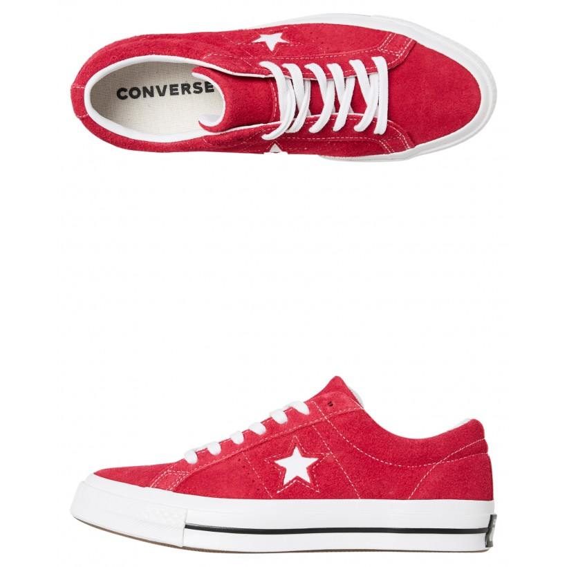 Womens One Star Ox Shoe Pink Pop By CONVERSE