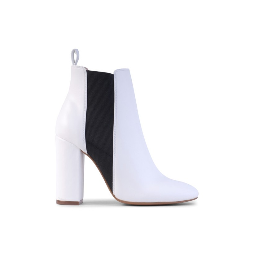 Piston - White Leather by Siren Shoes