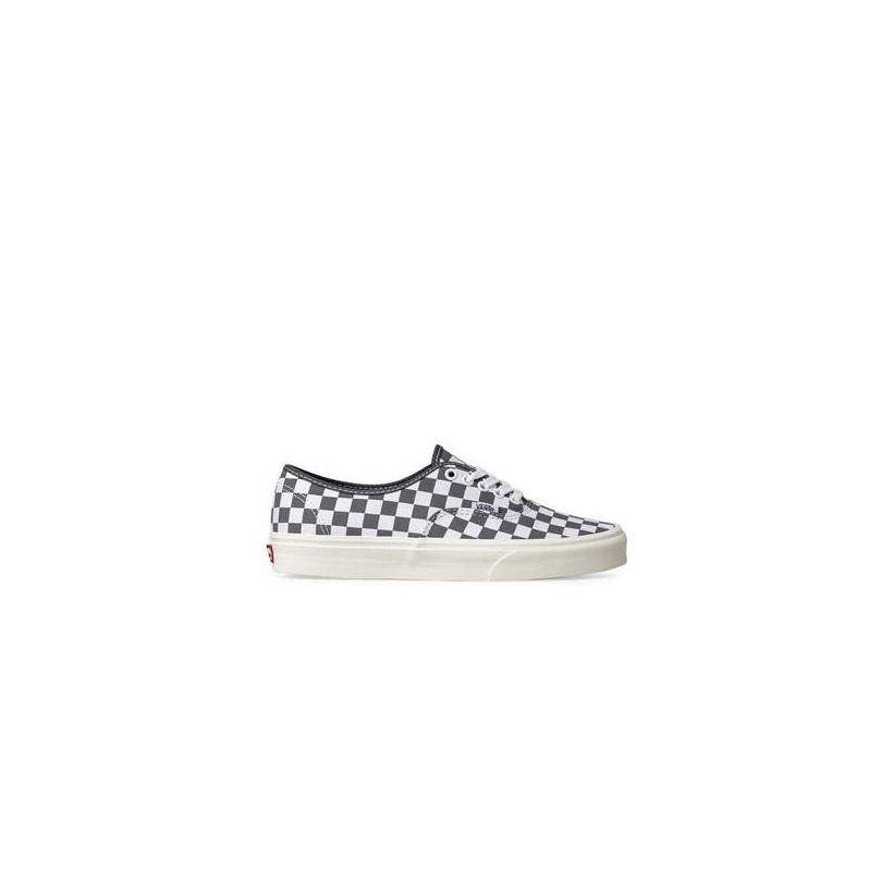 Authentic Checkerboard (Checkerboard) Pewter/Marshmallow